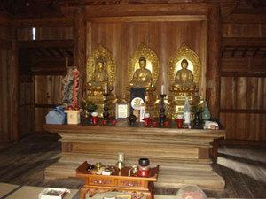 三仏堂の仏様たち: 写真のある記...